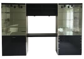 Pulaski Glass Panel Display Cabinet by Vintage U0026 Used Modern China And Display Cabinets Chairish