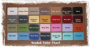 Color Chart Made To Order Signs You Choose Colors