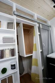 Open Concept Rustic Modern Tiny House Photo Tour And Sources | Ana ... Tiny Home Interiors Brilliant Design Ideas Wishbone Bathroom For Small House Birdview Gallery How To Make It Big In Ingeniously Designed On Wheels Shower Plan Beuatiful Interior Lovely And Simple Ideasbamboo Floor And Bathrooms Alluring A 240 Square Feet Tiny House Wheels Afton Tennessee Best 25 Bathroom Ideas Pinterest Mix Styles Traditional Master Basic