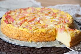 randlose rhabarber cheesecake