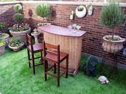 Cheap Patio Bar Ideas by Small Outdoor Bar Crafts Home
