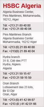 siege hsbc global liquidity and management help desk en algérie