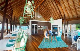 100 W Retreat And Spa Maldives Maldives Fish Restaurant Starwood Hotels