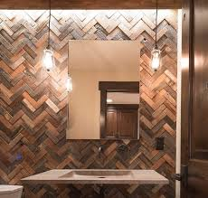 wood tile wall designs in bathrooms everitt schilling