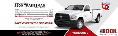 100 Ram Truck Dealer Car Ship Rockwall TX Rockwall CDJR