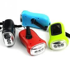 le de poche a manivelle portable led manivelle dynamo le de poche torche cing en