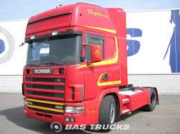 Scania R124L 420 Retarder Euro 3 Tractorhead - BAS Trucks
