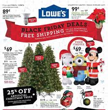 12 Ft Christmas Tree Sams Club by Lowe U0027s Black Friday 2017 Ads Deals And Sales