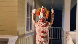 Halloween Club La Mirada Ca by Swinging Suicidal Clown Animated Prop Now Available At Halloween