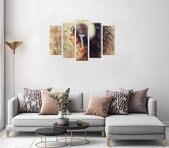 malerei frau gelb revolio leinwandbild wandbilder wohnzimmer