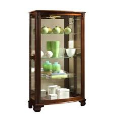 Pulaski Glass Panel Display Cabinet by Pulaski Gallery Mantel Curio Cabinet Walmart Com