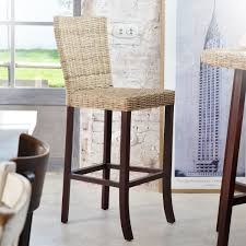 chaise kubu tabouret de bar en osier awesome great affordable tabourets with