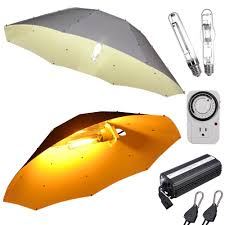 250w 400w 600w 1000w watt hps mh grow light kit 42 umbrella