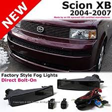 scion xb 2004 to 2007 bumper smoke fog light ls kit