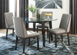 Downtown Furniture Co Chanceen 5 Piece Dining Room Set