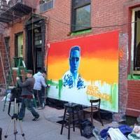 Joe Strummer Mural Address by Joe Strummer Mural Street Art In Alphabet City