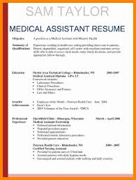 50 New Collection Medical Assistant Resume Templates Template Ideas