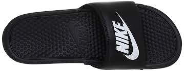 Nike Benassi Jdi Mens Beach Pool Sandals Black Shoes