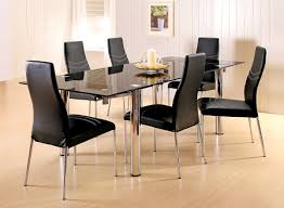 Modern Dining Room Sets Amazon by Furniture Pleasing Dining Room Glass Table Large Interior Home