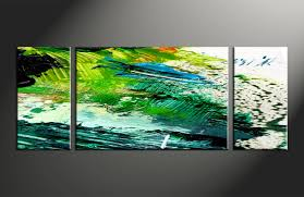 Home Decor 3 Piece Canvas Wall Art Oil Paintings Large Pictures Abstract