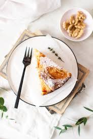 apfelkuchen mit zimt und walnüssen