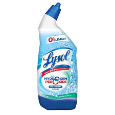 lysol hydrogen peroxide toilet cleaner lime scale remover lysol