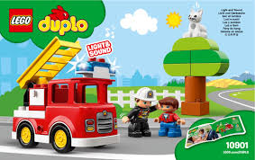 100 Lego Fire Truck Games LEGO Instructions 10901 Duplo
