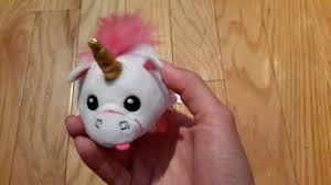 Fluffy Unicorn Teeny TY Despicable Me 3