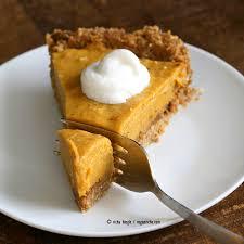 Pumpkin Pie With Gingersnap Crust Gluten Free by No Bake Vegan Pumpkin Pie With Gluten Free Gingerbread Crust