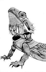 Dragon Art Print By Eva Vasari