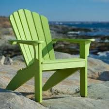 Outer Banks Polywood Folding Adirondack Chair by Outer Banks Poly Lumber Folding Adirondack Chair With Integrated