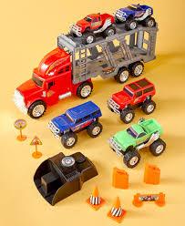14-Pc. Monster Truck Hauler Playset   LTD Commodities