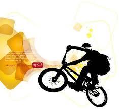 BMX Biker Vector Illustration
