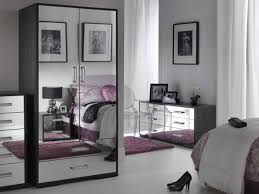 Bedroom Elegant Simple Mirrored Furniture Bedroom Set At