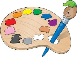 Free Painters Palette Clipart 1
