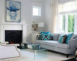 Marvelous Blue Gray Living Room And Innovative