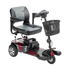 Drive Medical Phoenix Heavy Duty Power Scooter, 3 Wheel, 18