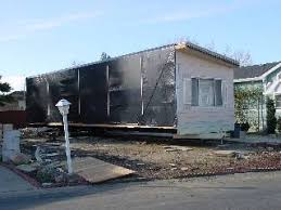 Removing The Old Mobile Home