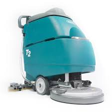 Tennant Floor Machine Batteries by Walk Behind Scrubber Dryer Battery Powered T2 Tennant Videos