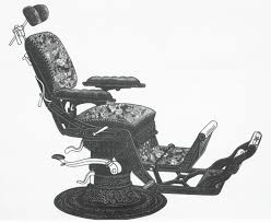 Fully Reclining Barber Chair please have a seat evolution of the dental chair virtual dental