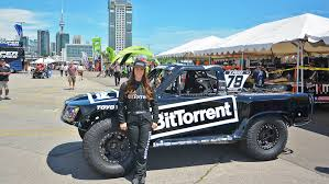 100 Stadium Truck BitTorrentsponsored Female Racer Rocks Super S In Toronto