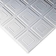 Tegular Ceiling Tile Blocks by Shop Armstrong Ceilings Common 24 In X 24 In Actual 23 73 In X
