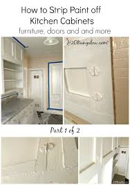 Kitchen Cabinet Filler Strips by How To Strip Paint Off Kitchen Cabinets And Furniture
