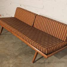 SOLD – Vintage Mid Century Modern Yugoslavian Day Bed Sofa No 2
