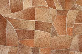 Detailed Image Of A Linoleum Background Stock Photo