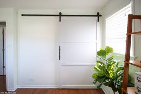 How To Build And Hang A DIY Barn Door On A Budget In Your Home Pallet Sliding Barn Doors Shipping Pallets Barn Doors Remodelaholic 35 Diy Rolling Door Hdware Ideas Ana White Cabinet For Tv Projects The Turquoise Home Fabulous Sliding Door Ideas Space Saving And Creative When The Wifes Away Hulk Will Play Do Or Tiny House Designs And Tutorials From Thrifty Decor Chick 20 Tutorials
