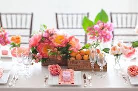 Spring Wedding Table Decorations Centerpieces Reception Centerpiece Pink Peach