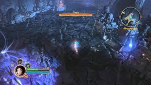dungeon siege 3 split screen dungeon siege 3 mage battle gameplay