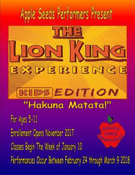 LION KING Apple Seeds II 7 11 Year Olds