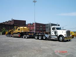 HD Peterbilt Triaxle With 2 Axle Jeep Dolly And 4 Axle Beam Trailer ...